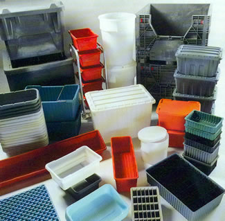 Assorted Plastic Boxes, Bins & Totes