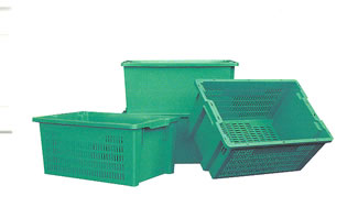 Green Stack & Nest Totes